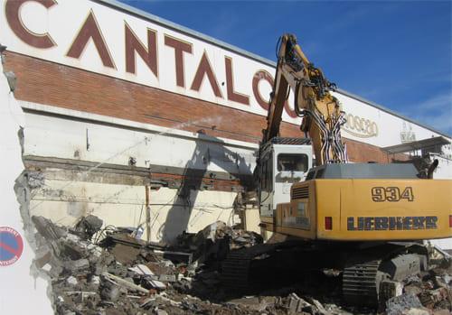 Démolition de l'usine Cantalou