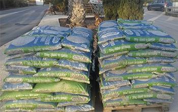 granit moucheté en sac de 20 kg